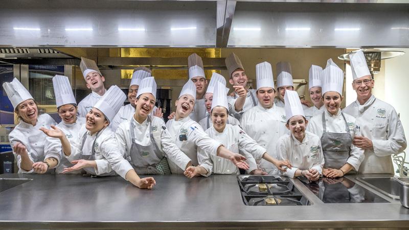 gruppo di Cuochi e Chef