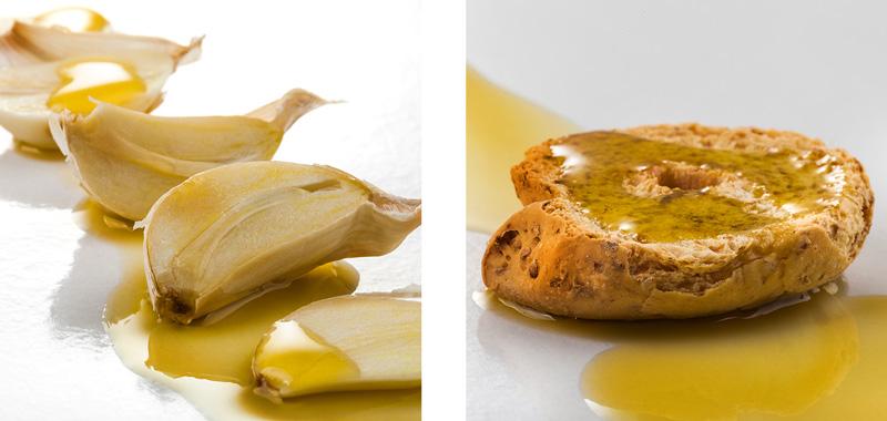 foto aglio e frisa con olio