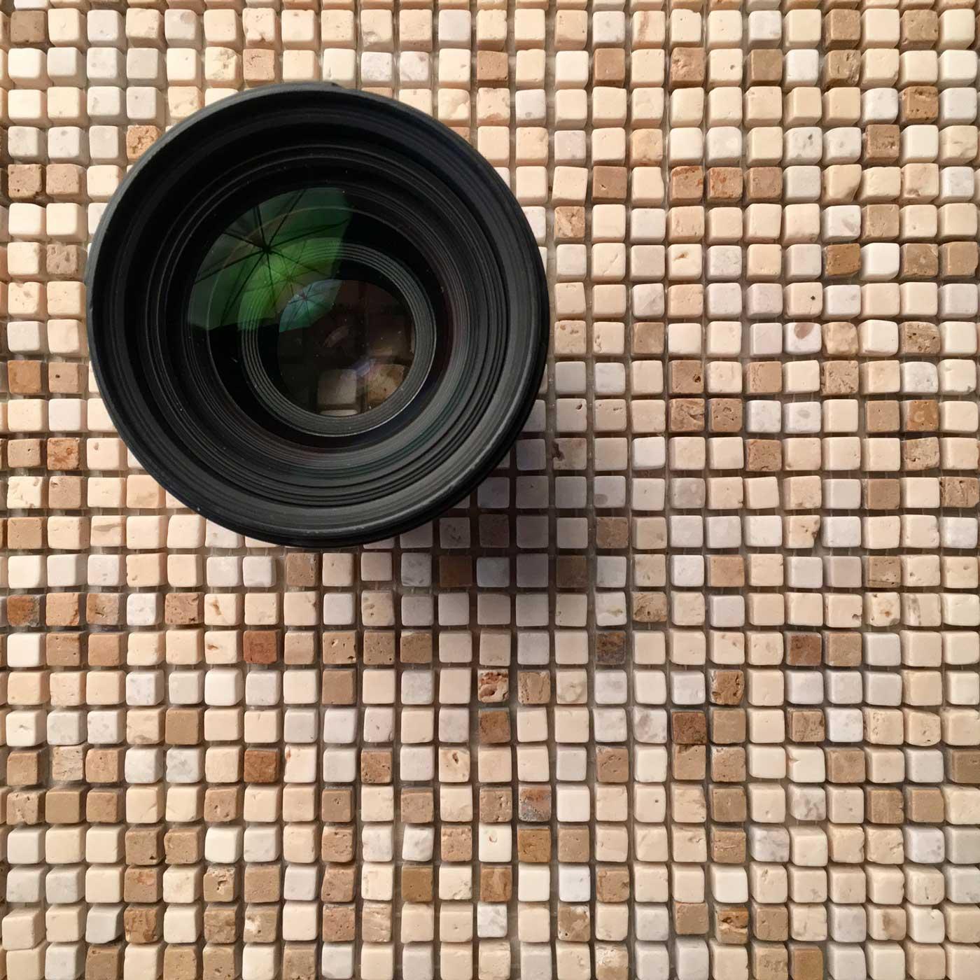 mosaico di marmo